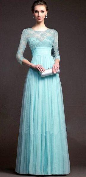 tyrkysové dlouhé společenské šaty s krajkou. společenské šaty » skladem »  M-L · společenské šaty » skladem » do 4000Kč · společenské šaty » skladem »  modrá c7978f6cf5